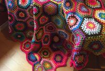 ❤ crochet ❤ tejido ❤ / Tejido en gancho y agujas.  / by Marcela Alanis Mercado