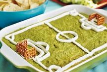 Football / Soccer Party Ideas / Recipes and inspiration for a football or soccer themed party