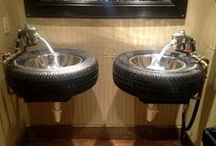 Recycled Tires / Impressively creative ways to use tires
