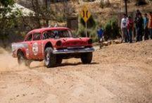 Vintage General Tire Race Cars