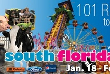 101 Reasons to come to the 101st South Florida Fair: Jan. 18 - Feb. 3, 2013 / October 9, 2012 - It's 101 days away from opening of our 101st South Florida Fair, January 18, 2013!!! Starting today we will post one reason to come to the Fair a day for 101 days, until opening day.  You will be surprised about the many activities you can enjoy at the South Florida Fair, but you didn't know…until now.