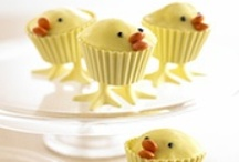 Easter Ideas / Inspiration for sweet and savoury Easter treats, including Easter cakes