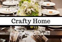 Crafty Home   DIY Decor / Why spend money on fancy decorations when you can make them yourself? This board is full of DIY home projects and DIY crafts that will make your home as unique as you are. From pictures and mirrors to pillows and rugs - this is the board for all you crafty homemakers.