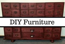 DIY Furniture / I dream of building my own furniture. Homemade cabinets, ikea hacks, handcrafted beds, refinished antiques - I want it all! If it is cozy, comfy, and unique, you can be sure that I will pin it. Everything from beginner refinishing to advanced carpentry required. Projects for every person and every home.