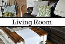 Living Room | Family Room / I love sectionals and comfy spaces. A living room or family room should be beautiful but inviting. It should look neat but lived-in. It should be warm but open. Most importantly, it should be a representation of the family that lives in the space. The rooms on this board really get it right.