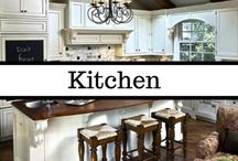 Kitchen Design, Decor, & Layout / The kitchen is the heart of the home, and I dream of having the best heart EVER! From baking centers, islands, and pantries to organizational methods and layout diagrams, I've got you covered on dreaming up your perfect kitchen. My dream kitchen is shades of traditional white and blue with wood accents, but it has to be modern enough to fit my master-chef-wannabe dreams.