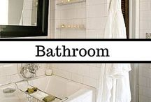 Bathroom & Closet Organization & Decor / Because everyone wants a walk-in closet, jacuzzi tub, and rainfall shower, and in the meantime, we've got to find a way to make what we have work.