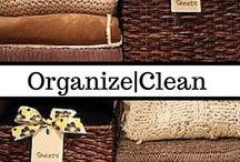 Organize & Clean   DIY Organization / Seeing things lined up neatly and orderly makes me smile, and it's even better when that order makes life easier to live. This board is dedicated to easy (and a few complex) ways to make life more manageable from cleaning hacks to brilliant organizational breakthroughs. Organizing and cleaning may not be my favorite things in the real world, but man I love to pin about them.