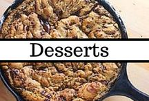 Dessert Recipes / We all have a sweet tooth, and Pinterest is certainly not helping. Follow for eye candy (and cookies, and cakes, and ice cream...) / by Bobbie @ Living in Retrospect & Fatfully