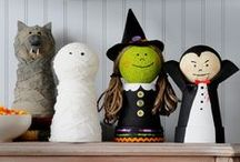Halloween Crafts & Decorations / Fun selection of DIY decorations and crafts to make this Halloween