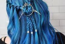 Cabelos coloridos / hair