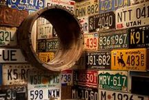 License Plates / Turning License Plates into Art