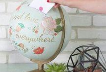 ! Casamento decoração Viagem / ideias de decoração para casamento com tema viagem