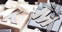 DIY {Tag it, Wrap it, Print it} / Printables and gift wrapping ideas.