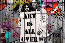 I live for art / Art is life