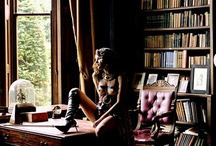 "My Big Love - Books - Bibliophilia / ""Books are a hard-bound drug with no danger of an overdose. I am the happy victim of books.""(Karl Lagerfeld) / by Ella Ella"