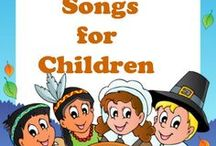 Kid's Favorite Turkey Day Tunes / Through interactive music and repetition preschoolers will enjoy learning with these favorite Thanksgiving Day tunes.  Youngsters will increase vocabulary, listening skills and number comprehension through simple and fun and inviting songs.