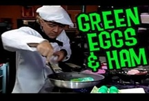 """""""Green Eggs and Ham"""" Song, Recipe and Activities Galore / Save the date: March 2nd -- Theodor Seuss Geisel was born March 2, 1904.  Most known for his pen name, Dr. Seuss, this famed author represents a love of children, reading and learning.  What better way to celebrate his birthday than by dedicating a special day to his life and love of books?"""
