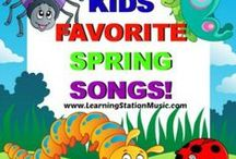 Spring Activities for Kids / Make learning fun and burst into spring with these fun activities for children that invite active, hands-on participation.