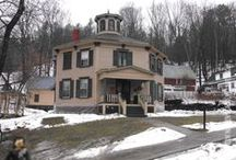Octagon Houses / This board will highlight Octagon houses and barns in Northern New England. www.northernnewenglandvillages.com