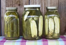 Pickles, Jams, and Condiments / by C G