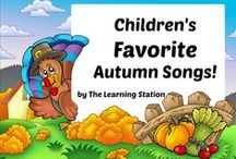 Children's Favorite Autumn Songs! / Popular children's songs for autumn, Halloween and Thanksgiving. Children will enjoy these delightfully animated videos filled with active participation and learning fun!