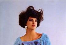 The 1980's / A collection inspired by sex symbols, big hair and big style.
