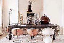 Decadent dining room