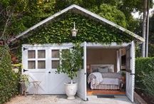 Decorating (She Shed) / Everything having to do with She Sheds, Garden Sheds, & Office or Guest House Sheds.