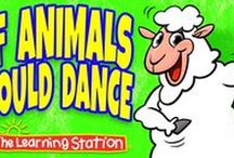 Animal Songs for Children / Children love learning about animals! Enjoy this collection of popular animal songs that invite children to actively participate. These songs are ideal for your theme on animals, brain breaks, morning meeting, group activities, circle time and indoor recess.