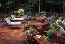 outdoor rooms / by Cathy Beaudoin