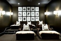 home theaters / by Cathy Beaudoin