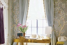 Chinoiserie / Luscious chinoiserie style  More lusciousness at http://mylusciouslife.com/style-chinoiserie-furniture-wallpaper-fabric-accessories/