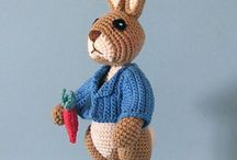 Crochet...Amigurumi / Toys and small creatures mostly wirh free patterns to crochet.  Some may be soley for inspiration but all tor many hours of fun / by Kitty Durbin