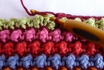 Crochet...Stitch Tutorials / A collection of crochet stitches and how to do them / by Kitty Durbin