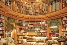 Luscious books and libraries / More here: http://mylusciouslife.com/stylish-home-libraries/