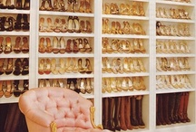 Shoe closets, dressing rooms and accessory storage / Luscious storage for clothes, shoes and accessories via http://mylusciouslife.com/stylish-home-shoe-closets/ and http://mylusciouslife.com/walk-in-wardrobes-closets-dressing-rooms-boudoirs/