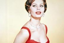 Style icon: Sophia Loren / More style icon lusciousness here: http://mylusciouslife.com/style-icons-sophia-loren/
