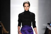 Frockage: Chado Ralph Rucci  / More here: http://mylusciouslife.com/runway-chado-ralph-rucci-fall-2013-rtw-collection/