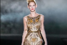Frockage: Badgley Mischka / Much more on the Luscious website including http://mylusciouslife.com/badgley-mischka-fall-2013-rtw-collection/