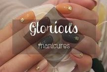 Glorious Nail Tutorials / Manis and pedis to try / by Deseo Beauty & Deseo Hair