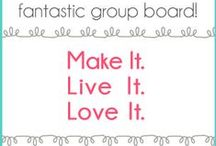 !! Make It. Live It. Love It. - DIY & Craft Bloggers Do It Best!! / Pin your crafty and DIY projects and favorite projects of others and share with a whole mess of handmade lovers!  Want to join this super fantastic group board? Give me a follow and comment on this pin (http://www.pinterest.com/pin/118219558943249006/) or message me on facebook (https://www.facebook.com/DreamaLittleBiggerBlog) and we'll be in business!