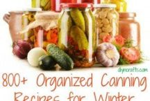 Canning / Summer goodness for winter meals. / by Susan Ellis