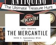 Antiquing IS a Verb at The Mercantile! / Where the Old Meets the New at The Mercantile