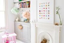 n u r s e r y   i d e a s  / nursery, playroom and childrens bedrooms. / by Kat0
