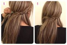 Long Hair / Styling tips for long hair.  / by Kristan Roland