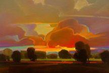 Orange Art / by Jenni Brummett