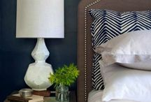 bedroom blue... / by The Boutique 411