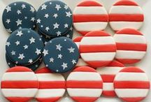 Red, White & Blue / 4th of July recipes and other patriotic treats. / by Kristan Roland