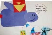 first grade stuff for Megan / by Cecilia Davidson